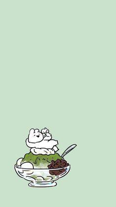 Rabbit Wallpaper, Kawaii Wallpaper, Cute Wallpaper Backgrounds, Photo Wallpaper, Cute Food Art, Cute Art, Cute Stories, Cute Cartoon Wallpapers, Cute Characters