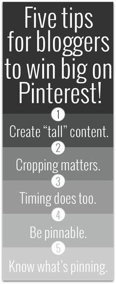 Pinterest 5 Tips
