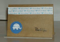 Thank You  Baby Cards Thank You cards Baby Shower by TDesign2