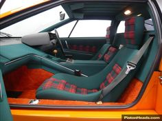 Lotus Esprit S1. Good lord that's an amazing interior