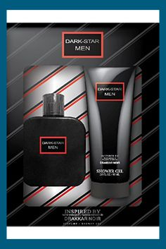 Watermark Beauty Dark Star Men's 2 Piece Gift Set – Includes 2.7 Fl.oz. 80ml Shower Gel, 1.7 Fl.oz. / 50ml Eeu De Cologne – Inspired By Drakkar Noir 2 Piece Fragrance Gift Set Dark Star, Shower Gel, Cologne, Fragrance, Gifts, Inspiration, Biblical Inspiration, Favors, Presents