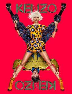 #moda #fashion - Kenzo S/S 2013    See all: http://modamodamoda.com.br/campanha-de-primavera-verao-2013-da-kenzo/
