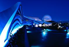 Original entrance, Living Seas pavilion EPCOT