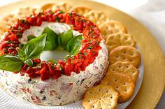 Antipasto Wreath recipe