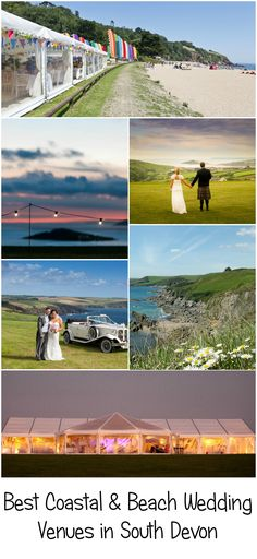 Coastal & beach wedding venues give you an amazing backdrop to your day - take a look at some of the best coastal and beach wedding venues in South Devon. Wedding Venues Devon, Coastal Wedding Venues, Beach Weddings, South Devon, Beach Themes, Backdrops, Wedding Ideas, Amazing, House