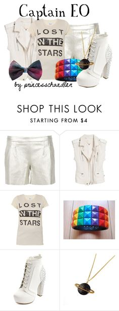 """""""Captain EO"""" by princesschandler ❤ liked on Polyvore featuring Utzon, Rebecca Taylor, Zoe Karssen, Charlotte Russe, Après Ski, women's clothing, women, female, woman and misses"""