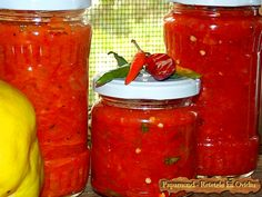 Recipe Collector, Canning Pickles, Romanian Food, Romanian Recipes, Good Food, Food And Drink, Jar, Ethnic Recipes, Pickling