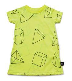 geometric a dress - NUNUNU WORLD