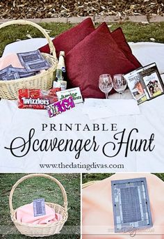 Scavenger Hunt Date- The Dating Divas