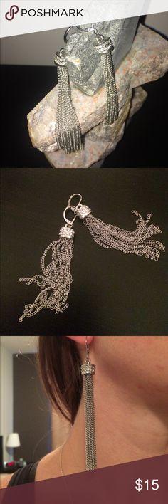 Silver Dangle Express Earrings NWOT Express Dangle Earrings. Express Jewelry Earrings