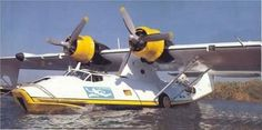 Cousteau society's PBY Catalina - Philippe Cousteau (son of famous Captain Jacques-Yves Cousteau) was killed in the crash of this plane in 1979 in Portugal. Airplane Flying, Airplane Art, Flying Boat, Amphibious Aircraft, Ww2 Aircraft, Military Aircraft, Zeppelin, War Jet, Jacques Yves Cousteau