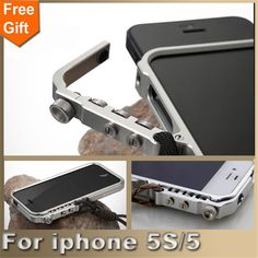 For iphone 5S case Man Super Arm Aluminum Metal Bumper for Apple iphone 5 case iphone SE cover Frame For iphone5S phone cases #clothing,#shoes,#jewelry,#women,#men,#hats,#watches,#belts,#fashion,#style