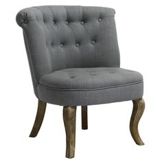 @Overstock - The Melissa tufted Blue/ grey fabric accent chair offers unilateral seating upon a soft and comfortable cushion. Complete with a tufted and padded back rest and seat, you can relax for hours in style.  http://www.overstock.com/Home-Garden/Melissa-Tufted-Blue-Grey-Fabric-Accent-Chair/7325000/product.html?CID=214117 $224.99