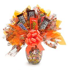 Candy Bar Bouquets - Falling Leaves!
