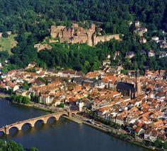 Heidelberg, Germany. Took a daytrip here. Lovely city. Nothing to do on Sundays, however.