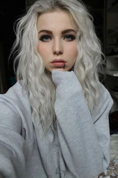 love white hair | via Facebook