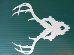 Kentucky Deer Skull vinyl decal for window, truck, toolbox or anywhere else! by 101LEDs on Etsy