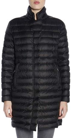 b3531b09862 Spindle Women s Designer Winter Lined Parka Quilted Coat Fur Collar ...