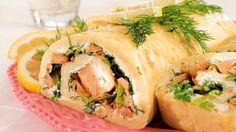 Sirpan savulohirulla - smoked salmon roll