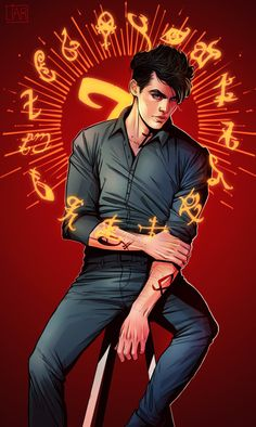 Alec Lightwood by DakotaLIAR —— Feel free to ask me about the commissions! Write to dakotaliar@gmail.com