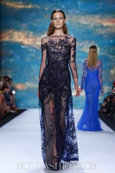 Monique Lhuillier Ready To Wear Spring Summer 2013 New York