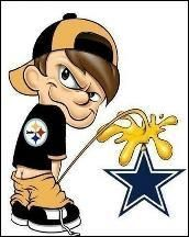 Steelers pee on Cowboys
