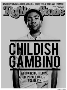 Childish Gambino Rachel//in//flgiht
