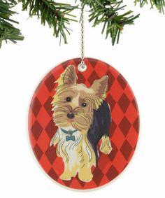 Yorkie Ornament My Minnie <3
