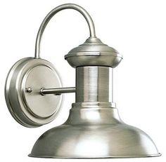 chrome nautical sconce   Trendie Tips - The Key To Elmhurst   The Key To Elmhurst