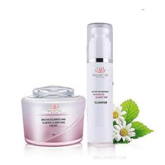 KNUCKLES BRIGHTENING SET Layers Of Skin, Uneven Skin Tone, Cotton Pads, Collagen, Cleanser, How To Apply, Collages, Cleaning Agent