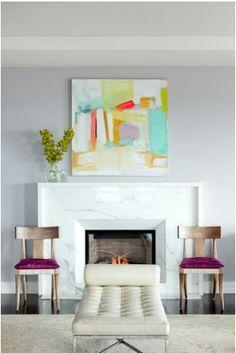 beveled stone fireplace surround - Google Search