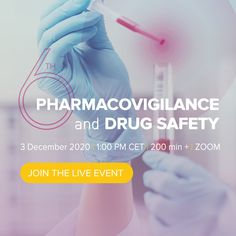 Having run five successful events, we are glad to announce that the 2020 6th Pharmacovigilance & Drug Safety event will be held online and will focus on the latest trends and regulations in Pharmacovigilance, including industry trends, regulatory challenges, best practices of quality risk management, signal detection, and PV data management. Pharmaceutical Manufacturing, Boehringer Ingelheim, Regulatory Affairs, Industry Trends, Hematology, Clinical Research, Nursing Notes, Internal Medicine, Medical Information