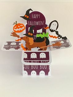 Excited to share this item from my #etsy shop: Halloween Dachshund/Sausage Dog pop up card, 3D card, exploding card, handmade card, cauldron, bats, pumpkin, cat card #halloween #childshalloween #broomstickcard #pumpkincard #batscard #cauldroncard Halloween Pop Up Cards, Dog Halloween, Halloween Themes, Happy Halloween, Popup, Exploding Box Card, Pumpkin Cards, Pop Up Box Cards, Dog Cards