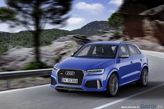 The Audi RS Q3 with 367HP