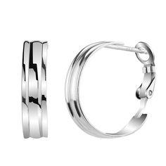 Dámské stříbrné náušnice Silvego kruhy ZTE201106214