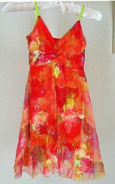 Les Tout Petits Floral Mesh Dress Sz 6 Girls Boutique #LesToutPetits #Everyday