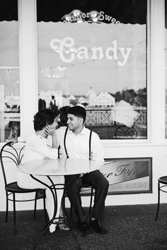 Emily + Daniel Engaged! | Disney's Boardwalk » tarasprocphotography.com