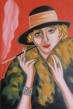 """""""EVA"""" Óleo sobre lienzo  Tamaño 40x60 cm. Precio 200 €"""