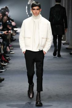 Neil Barrett Fall 2015 Menswear Fashion Show