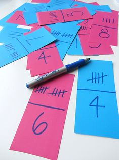 tally mark dominoes game