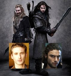 Fili & Kili from The Hobbit.