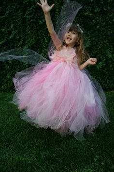 Pink+Tutu+Flower+Girl+Dresses | Pink Flower Girl Tutu Dress Pink Peony