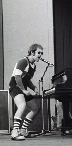 Elton John in his young days