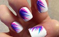 Diseños de uñas a la moda actual, diseño de uñas a la moda facil. Clic Follow, Follow! #manicuras #instanails #uñasdeboda