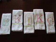 Spa Party Towels - could do facewashers