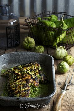 Hatch Chile Verde with Chicken