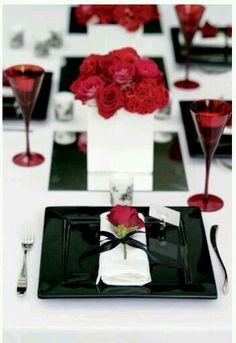 An elegant formal Valentine's tablescape.!