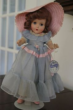 Arranbee Hard Plastic Nancy Lee Bridesmaid with Tag