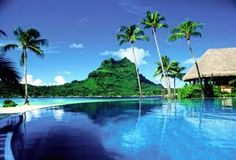 Bora Bora. This is the 2nd pic of Bora Bora I have paused to look at. I need to go there, with a book and a bathing suit.