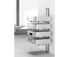 Image result for av wall shelf column